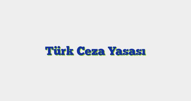 Türk Ceza Yasası